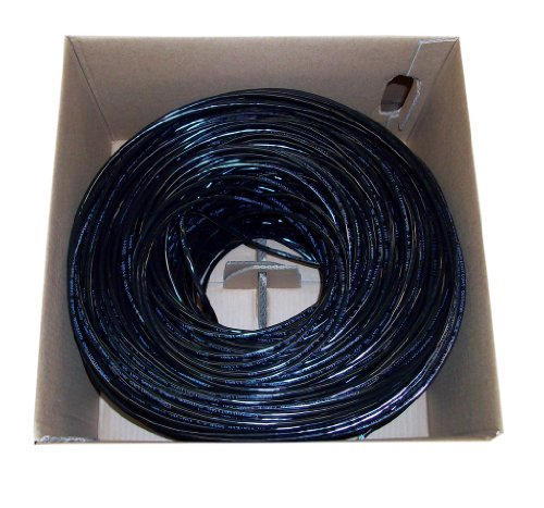 New 1,000 ft Cat6 Ethernet Cable / Wire 1,000ft Cat-6 Waterproof Outdoor / Direct Burial / Underground ~ VIVO