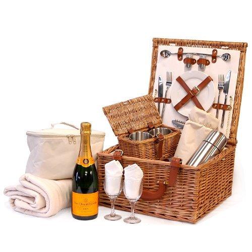 deluxe-harpenden-2-person-chiller-picnic-hamper-basket-with-veuve-clicquot-champagne-75cl-gift-ideas