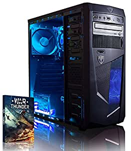 VIBOX Vision 2 - 3.9GHz Dual Core, Home, Office, Family, Desktop Gaming PC, Computer with WarThunder Game Bundle PLUS a Lifetime Warranty Included* (3.7GHz AMD A4 6300 (3.9GHz Turbo) Dual Core APU Processor, Radeon 8370D Graphics Chip, 1TB HDD Hard Drive, 8GB 1600MHz RAM, No Operating System)