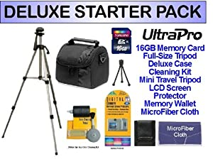 DELUXE 16GB SD Memory Starter Package for the Panasonic LUMIX FZ200, LX7, FZ60, DMC-LZ20K, DMC-SZ5 Digital Cameras. Includes Everything You Need To Get Started!