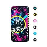 id America Cushi New York Sticker en mousse souple pour iPhone 4