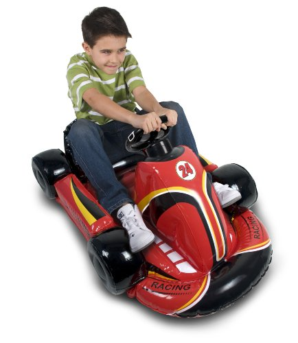 Wii Inflatable Car - Red