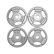 Top Body Power Standard TRI GRIP Discs 1.25Kg (x4) Comparison-image
