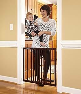 Stork Craft Easy Walk-Thru Wooden Safety Gate,