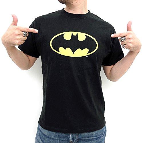(バットマン) BATMAN Tシャツ メンズ 半袖 バットマン ロゴ コミック 2color