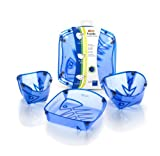 Fozzils Solo Pack (Cup, Bowl, Dish) - New Blue