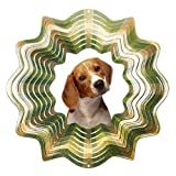 Iron Stop D406-10 Beagle Wind Spinner
