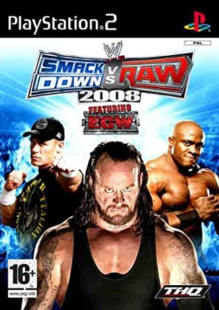 Wee Smackdown Vs Raw 2008 Ps2 Ver. Reino Unido