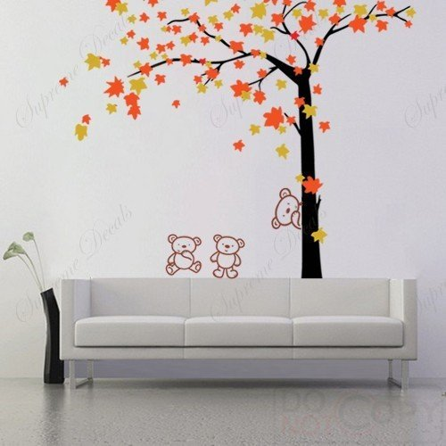Removable Vinyl Wall art decals stickers murals  Home