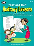 img - for Say and Do Auditory Lessons by Diane Hyde (2004) Paperback book / textbook / text book