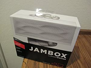 Jawbone Jambox Special Edition Bluetooth Speaker - White Wave by Jawbone