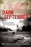 Dark September by Brendan Gerad O'Brien, front cover