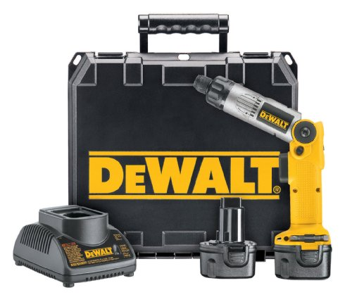 DEWALT DW920K-2 1/4-Inch 7.2-Volt Cordless Two-Position Screwdriver Kit picture
