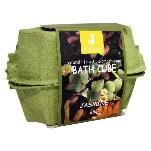 Jーアロマ バスキューブ 天然の香りが疲れを癒す、旅行にも便利なボール状入浴剤