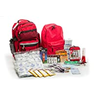 4 Person Premium Disaster Preparedness Kit (72 Hours of Supplies)