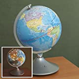 Constellation Globe-Illuminated Globe - Earth and Star Constelations Great gift for a Young Astronomer - 2 in 1 World Globe and Constelation