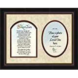 Broken Chain Sympathy Poem Framed Gift for Memorial, Encouragement and Comfort in Time of Bereavement