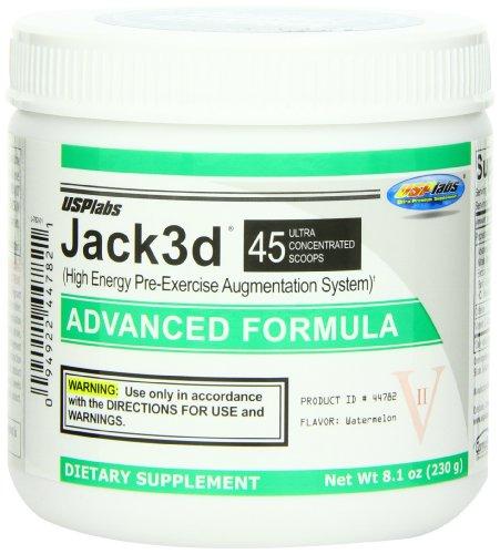 JACK 3D USP LABS - PASTÈQUE - 230 G
