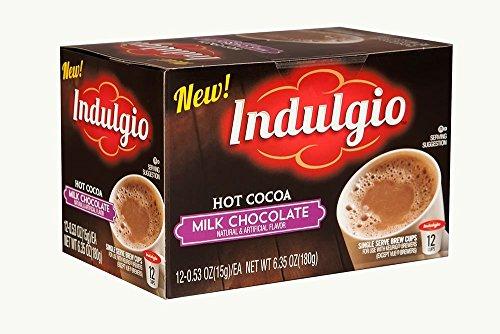 Indulgio 72 Count K-Cups (Milk Chocolate Hot Cocoa)