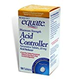Shop For Equate - Acid Controller, Maximum Strength 20 mg, 50 Tablets ...