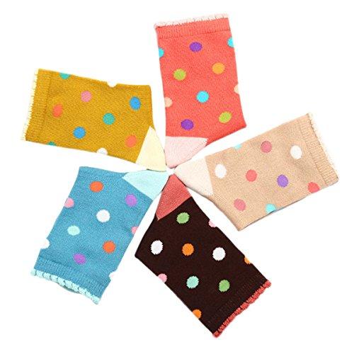 5-Paires-de-Chaussettes-en-Coton-Enfants-Filles-Multicolore--Poid-Tailles-Divers