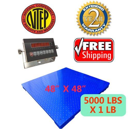 Certified NTEP 5000lbx1 lb 48
