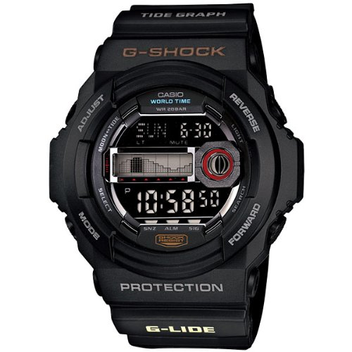 Casio CASIO G shock g-shock G-ride G-LIDE watch GLX150-1 black [parallel import goods]