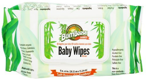 Bum Boosa Bamboo Baby Wipes - 80 Ea, 6 Pack - 1