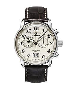 Zeppelin Herren-Armbanduhr LZ127 Graf Zeppelin Chronograph Quarz 76845