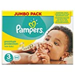 Pampers New Baby Jumbo Nappies - Size...