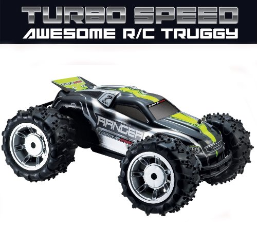 51hzIaFQ4SL Remote Control Car / Truck / Buggy (AKA Truggy!)   Fun Turbo Speed RC Truggy