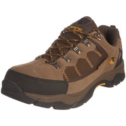 Hi-Tec Men's Britton Hill Brown/Brown/Gold Hiking Shoe P001213/043/99 10 Uk