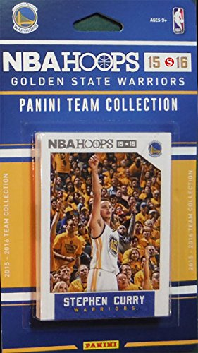 Golden-State-Warriors-2015-2016-Hoops-Basketball-Factory-Sealed-10-Card-NBA-Licensed-Team-Set-with-Stephen-Curry-Plus