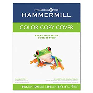 Hammermill Color Copy Digital Cover, 60 lbs., 8-1/2 x 11, 250 Sheets/ 1 Pack(122549R)