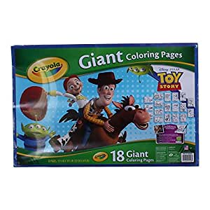Amazon Crayola Toy Story 3 Giant 20 Coloring Pages