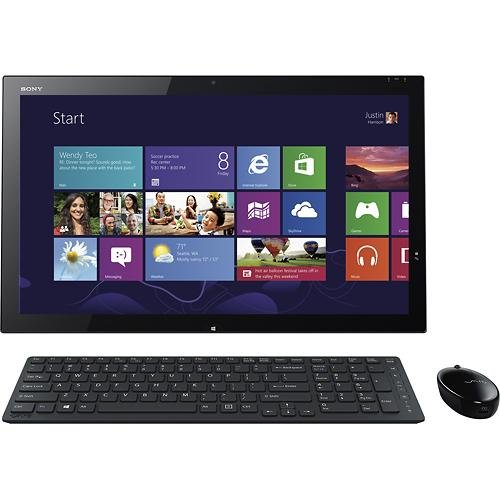 Sony VAIO SVT21215CXB 21.5 Notebook (1.6GHz Intel Gist i5-4200U 8GB RAM 750GB HDD Microsoft Windows 8)