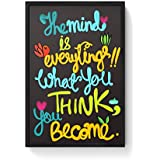 PosterGuy Mind Is Everything! Mind,Everything,Think,Become,Quotes,Buddhaquotes,Positive,Motivational,Beingpositive...
