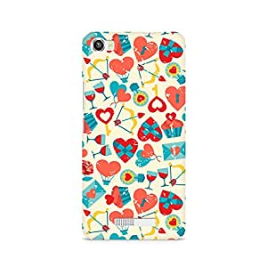 TAZindia Printed Hard Back Case Cover For Lava Iris X8