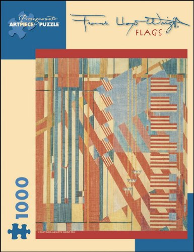 Frank Lloyd Wright - Flags: 1,000 Piece Puzzle (Pomegranate Artpiece Puzzle)