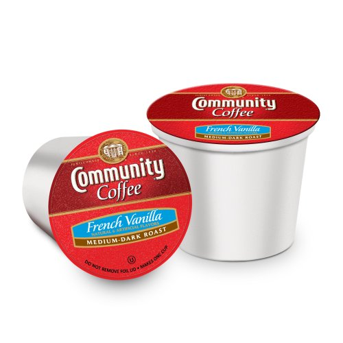 Community Coffee Single-Serve Cups, French Vanilla, 36 Count