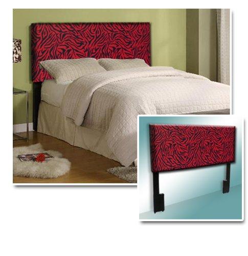 Red Zebra Bedding front-158223
