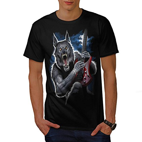 wolf-wild-music-guitar-horror-men-new-black-xl-t-shirt-wellcoda