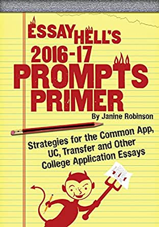 We are pleased to share the 2015-2016 Essay Prompts with you. New ...