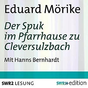 Der Spuk im Pfarrhause zu Cleversulzbach Hörbuch