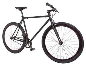 Vilano Rampage Fixed Gear Fixie Single Speed Road Bike, Matte Black
