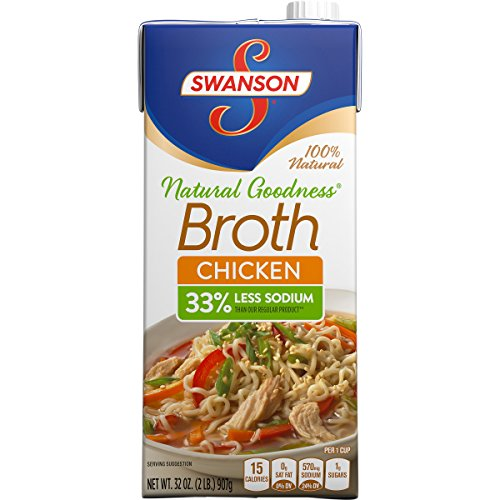 Swanson Natural Goodness Chicken Broth, 32 oz