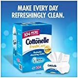 Cottonelle Fresh Care Flushable Cleansing Cloths, 504 Cloths