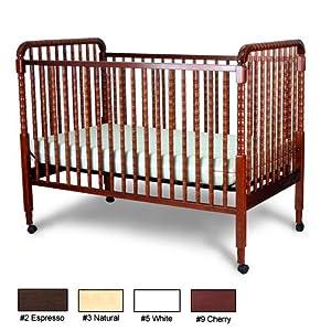 Jenny Lind Fixed Side Convertible Crib Finish: Espresso