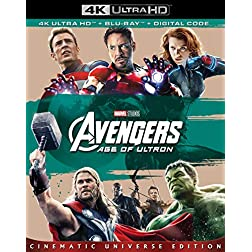 Avengers: Age Of Ultron [4K Ultra HD + Blu-ray]