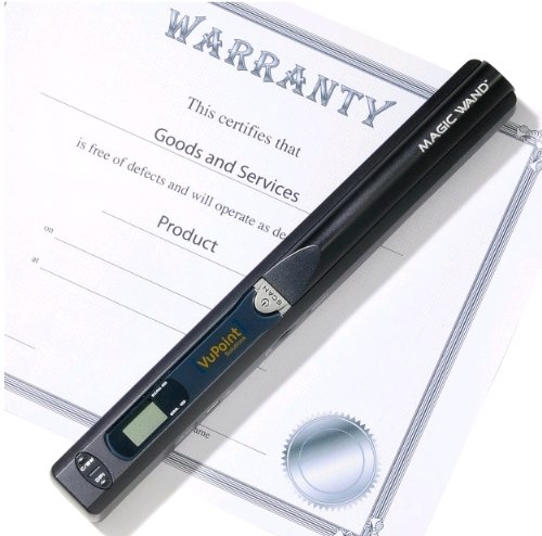 Learn More About VuPoint Solutions Magic Wand Portable Scanner (PDS-ST410-VP)